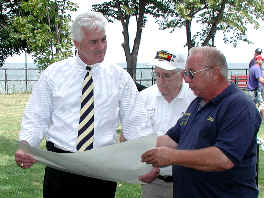US Congressman Jack Quinn & Lighthouse Keeper Dick Lawson